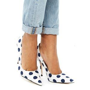 Public Desire Polka Dot High Heels